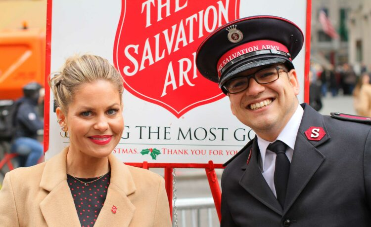 For a second year, The Salvation Army has enlisted actress, executive producer andNew York Timesbest-selling authorCandace Cameron Bure to encourage others to join the fight to combat hunger, homelessness, and hopelessness as The Salvation Army enters its 129th red kettle season.