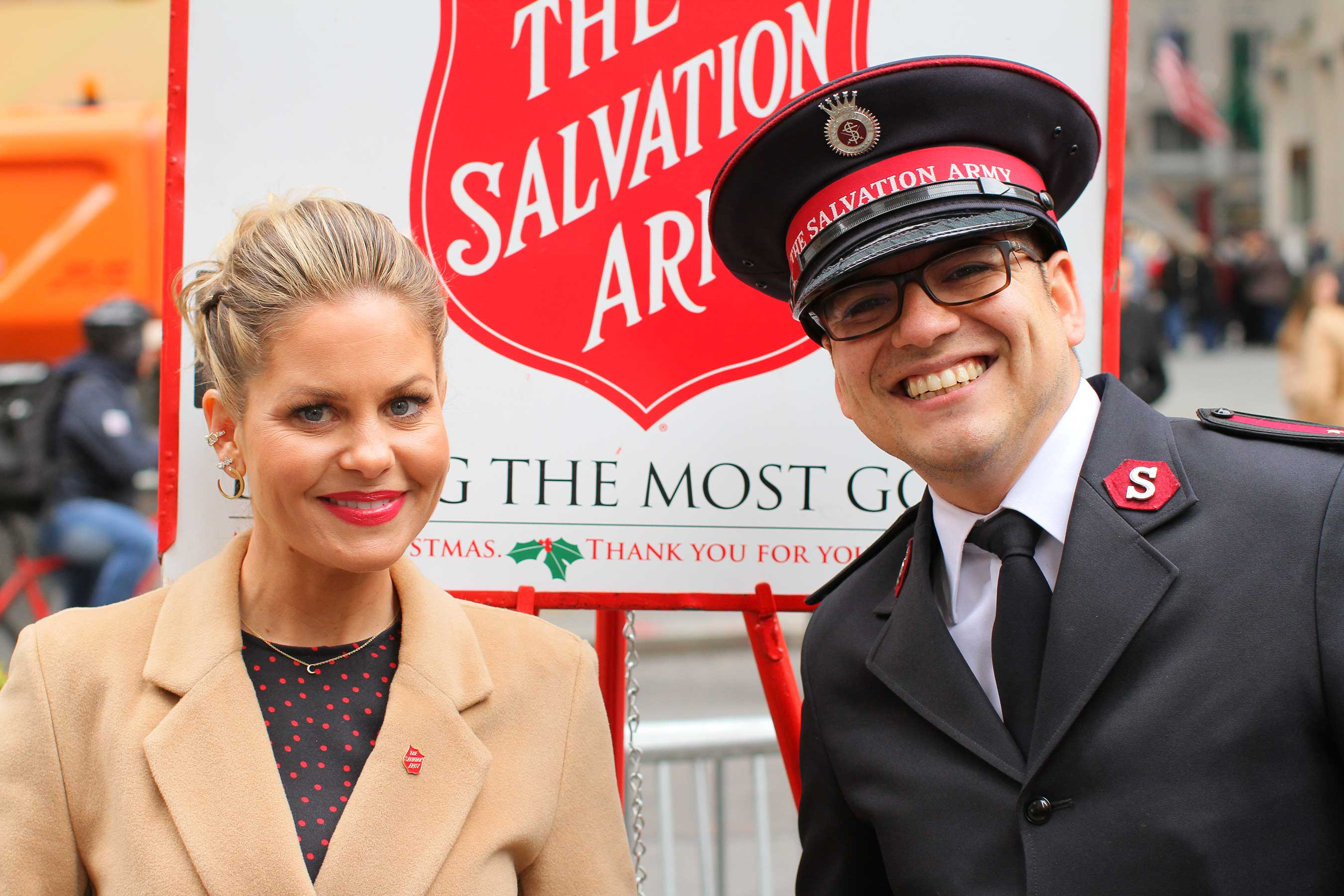 For a second year, The Salvation Army has enlisted actress, executive producer and New York Times best-selling author Candace Cameron Bure to encourage others to join the fight to combat hunger, homelessness, and hopelessness as The Salvation Army enters its 129th red kettle season.