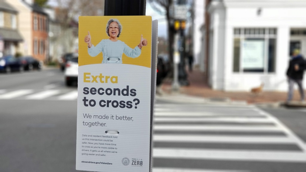 As a pedestrian, do you feel safe walking in the City of Alexandria, Virginia? Vote in our poll and add your comments in the section below!