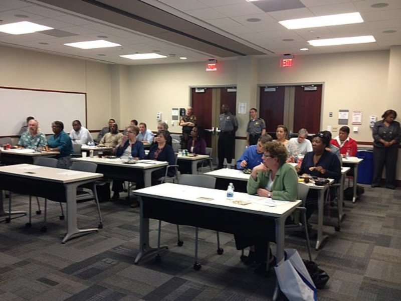 Get to know your Police Department! The FREE Alexandria, Virginia Community Police Academy half-day class gives residents a chance to learn about various aspects of APD.
