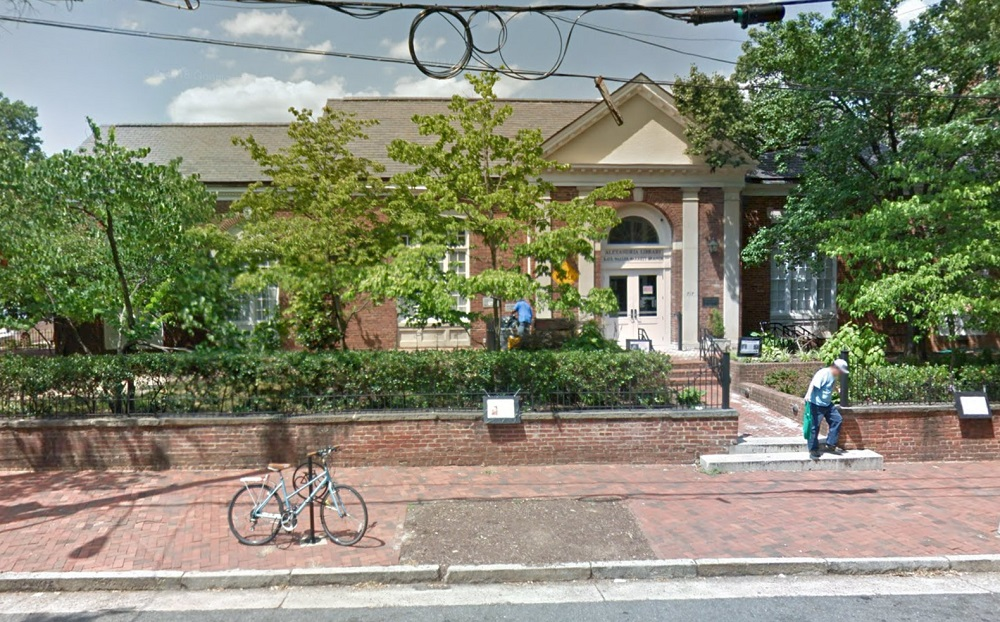 On January 26, 1937, the Alexandria City Council approved the building of a public library in memory of Kate Waller Barrett, at 717 Queen Street in Old Town Alexandria, Virginia.