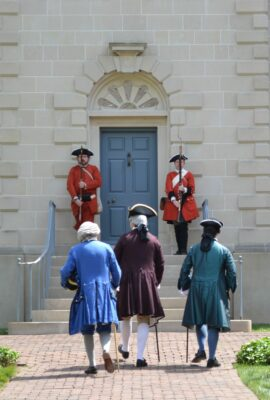 Visitors to the Carlyle House in Alexandria, VA will experience Braddock's visit and the French and Indian War firsthand through costumed interpreters.