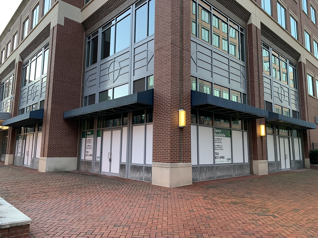 This is a nice 4,935 SF retail spot for lease in the Carlyle neighborhood of Alexandria, Virginia at 1920 Ballenger Avenue.
