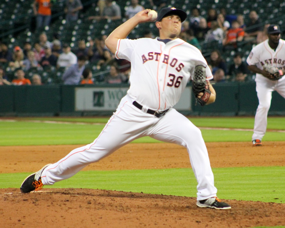 The Washington Nationals announced they have agreed to terms on a three-year contract with right-handed pitcher Will Harris on Friday.