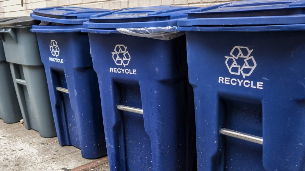 The City of Alexandria, Virginia is currently experiencing temporary curbside recycling service delays due to heavy volumes and wait times at the recycling facility following the holidays.
