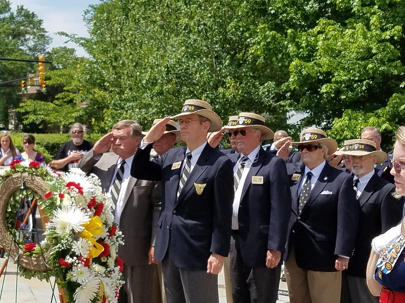"""The City of Alexandria, Virginia and the """"Friends of Rocky Versace"""" will host the annual Memorial Day ceremony at the Captain Rocky Versace Plaza."""