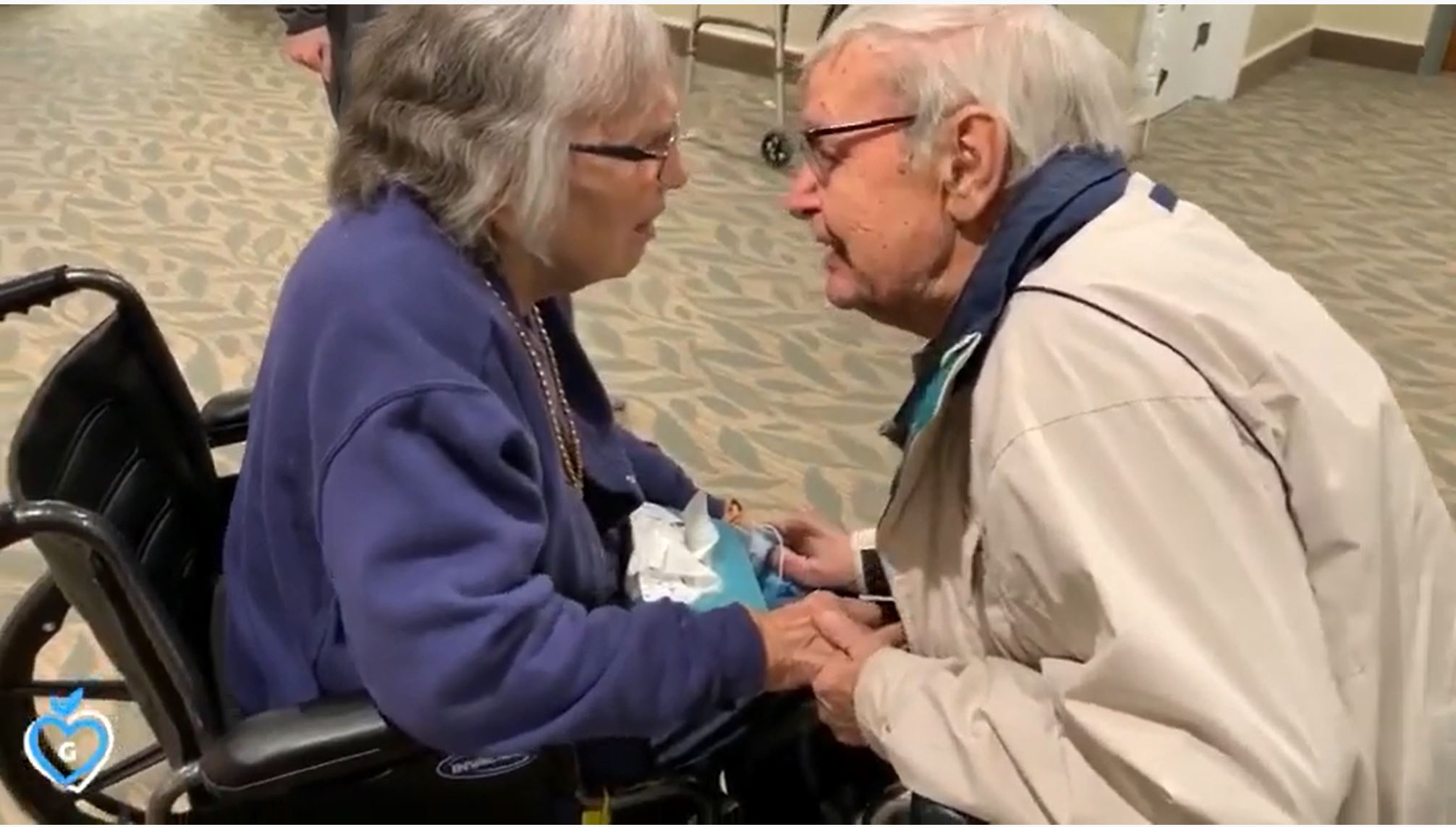 For this week's Sunday Smile, whether you have had a good or bad week, here is video of Jean & Walter Willard being reunited after COVID-19 separation.