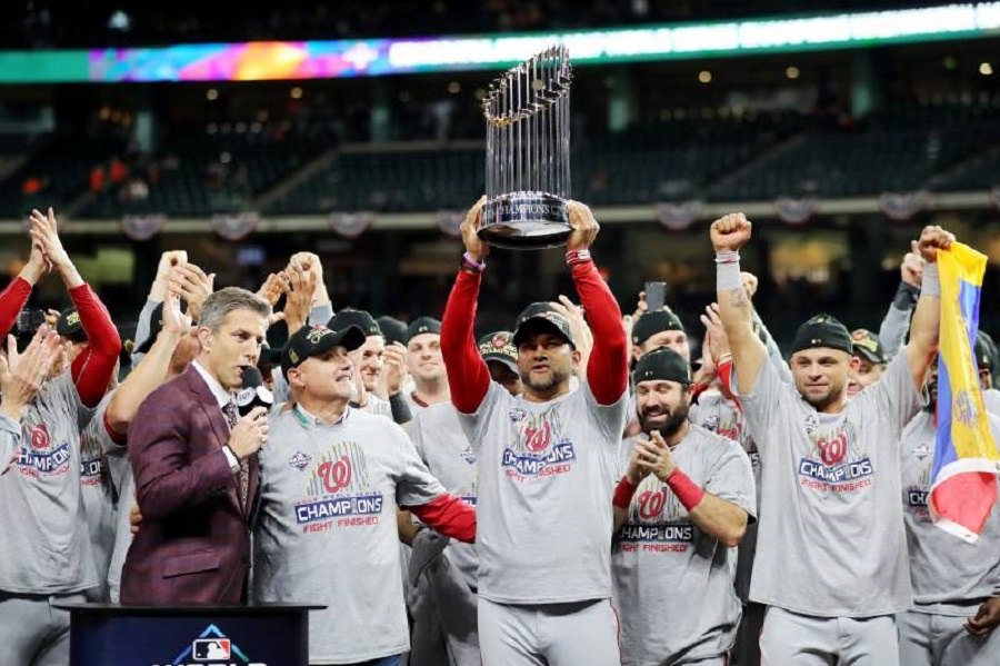 The Washington Nationals announced Saturday that the team has decided to postpone the special, first of its kind virtual ring ceremony scheduled for May 24. Other events are still planned.