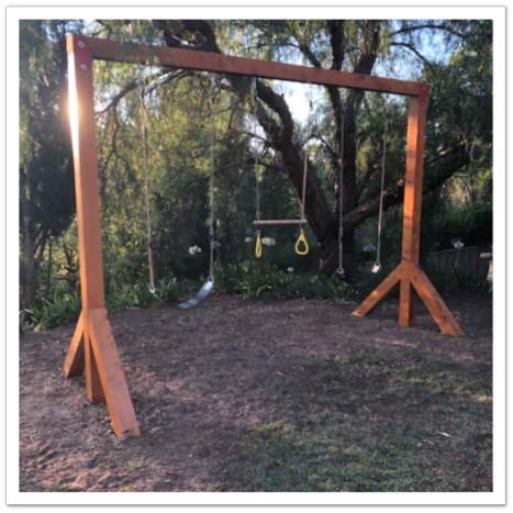 Play Equipment - Swing Frame