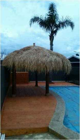 Bali Huts and African Thatches