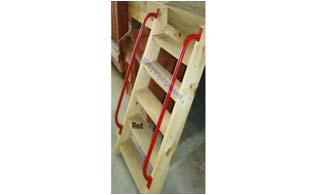 Steps & Steel D Handles