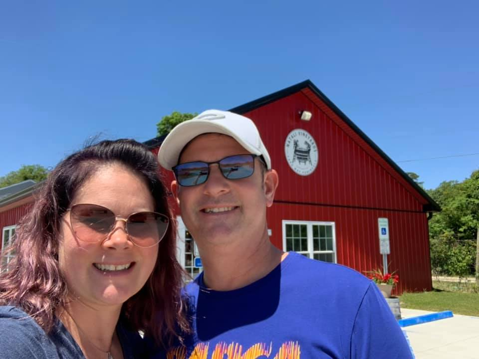 Winery visit in Cape May, NJ