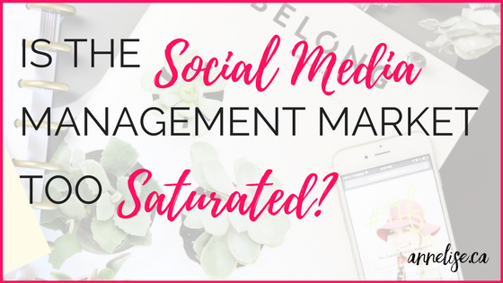 IS the social media management market too saturated