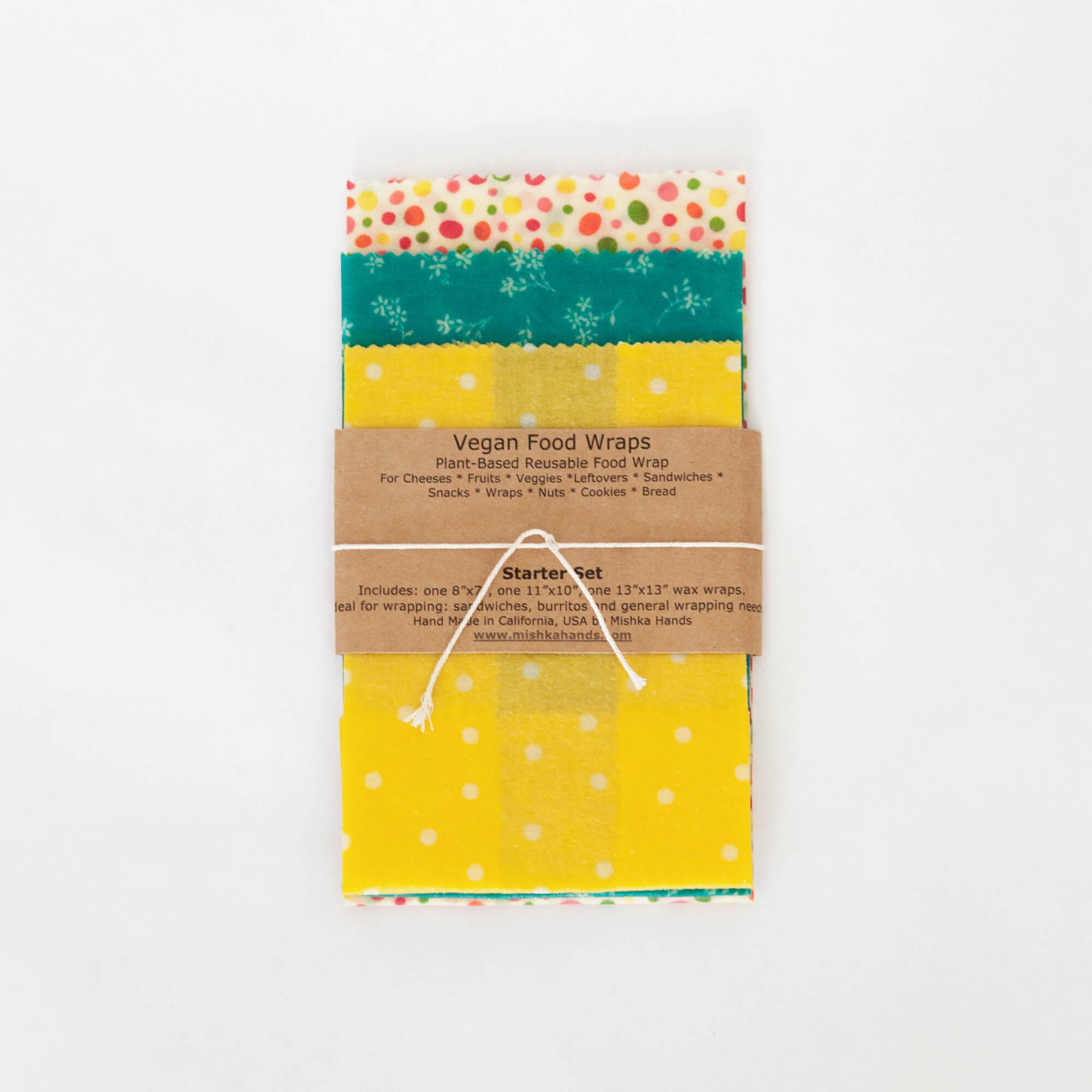 Mishka Hands Food Wax Wraps