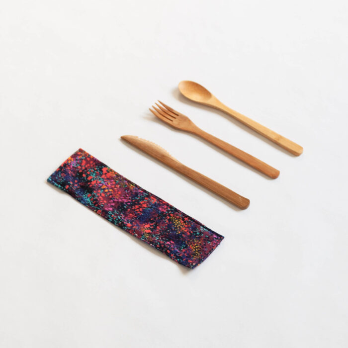 AE Bamboo Cutlery Sleeve