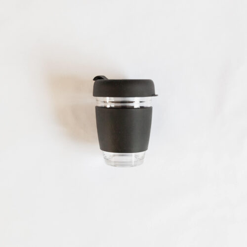 Glass Silicone Coffee Cup