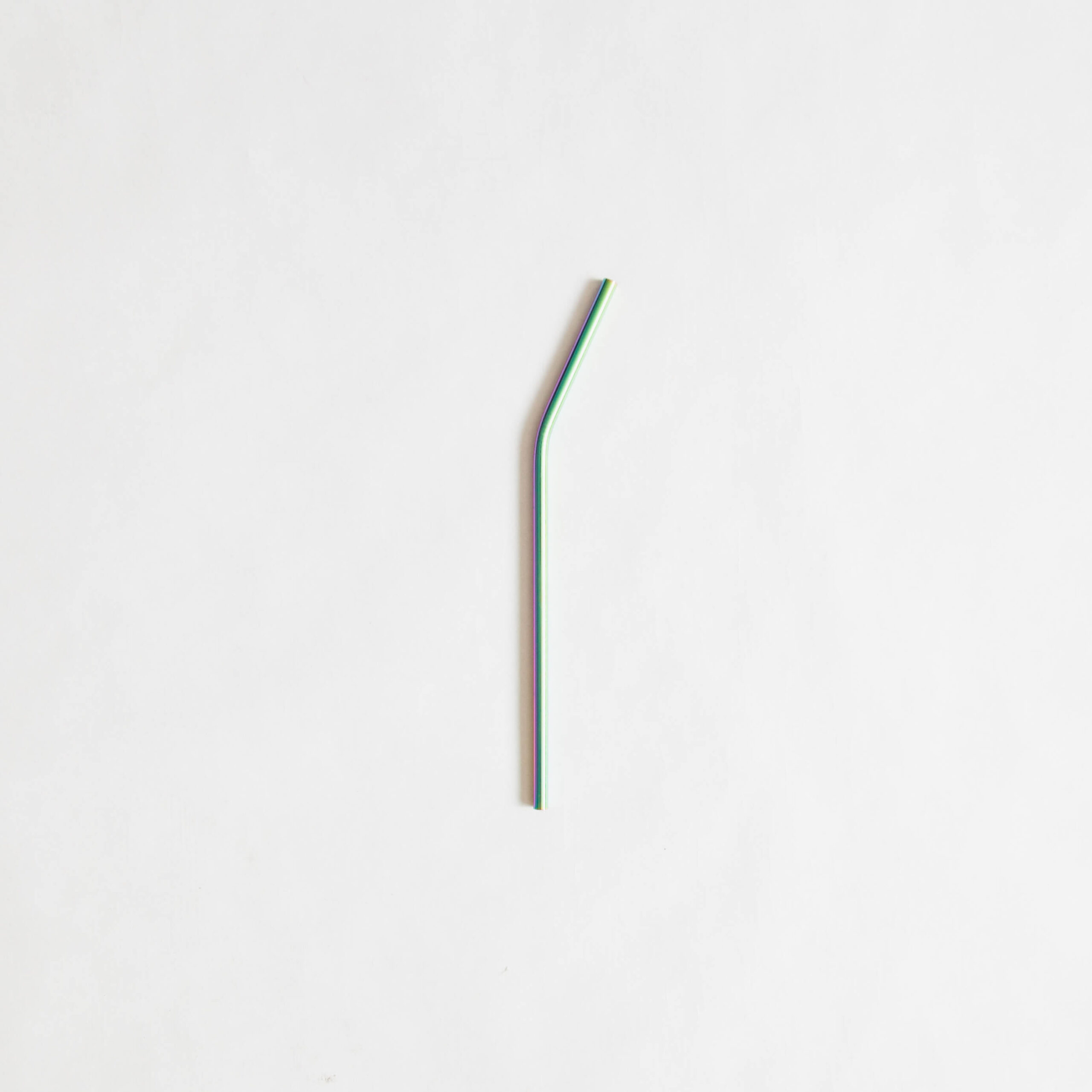 Bent Stainless Steel Straw