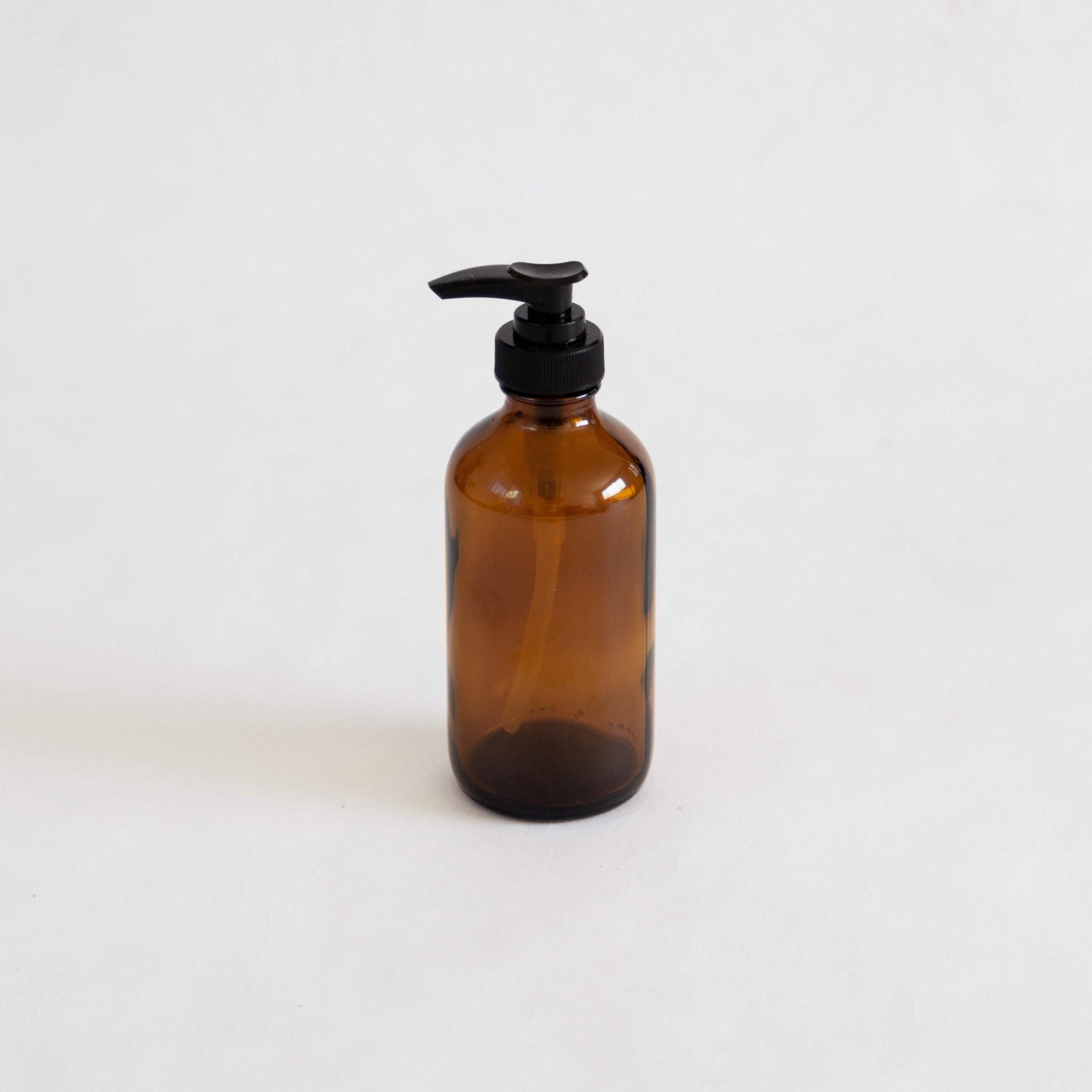 Amber Soap Dispenser