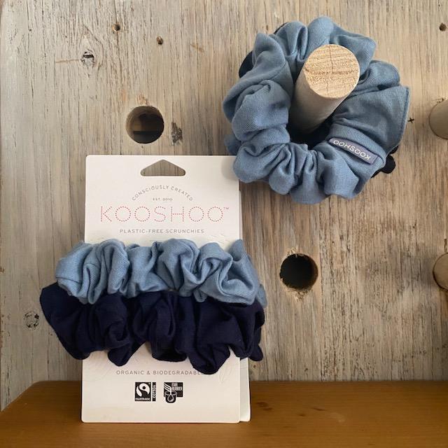 Scrunchies - Blue