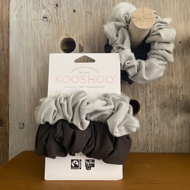 Gray Kooshoo Scrunchies