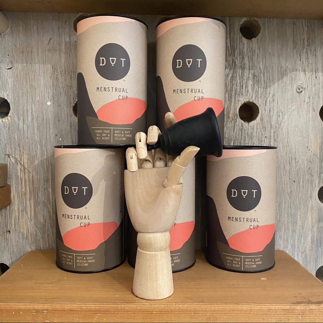 Dot Silicon Menstrual Cup