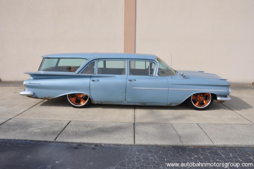 1959 Chevrolet Brookwood Wagon Autobahn