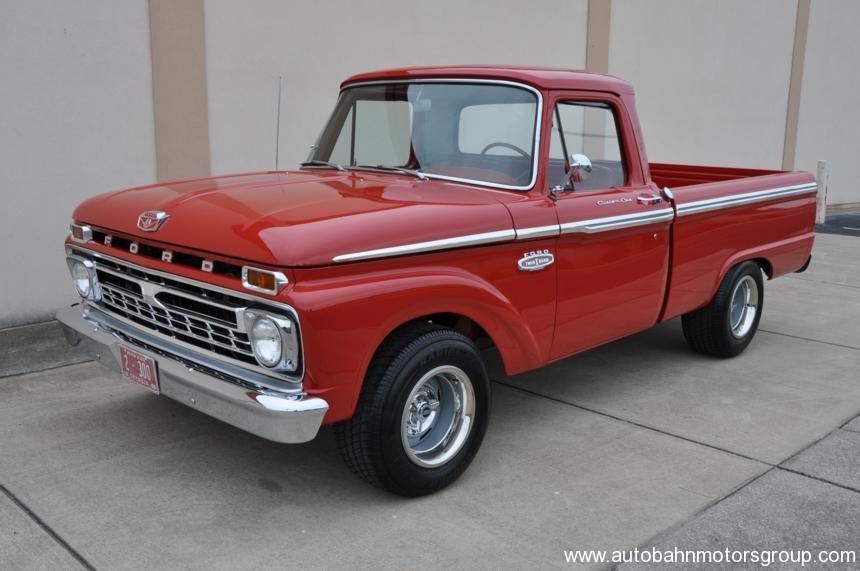 1966 Ford F100 Custom Cab Autobahn