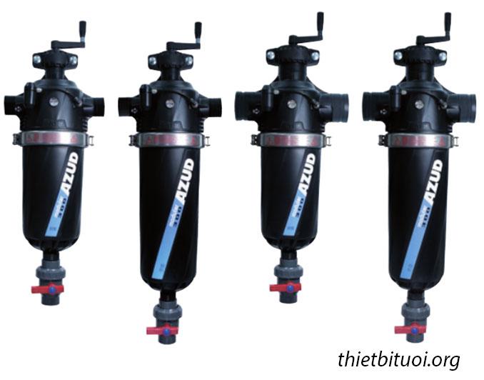 Các mẫu bộ lọc nước cho hệ thống tưới