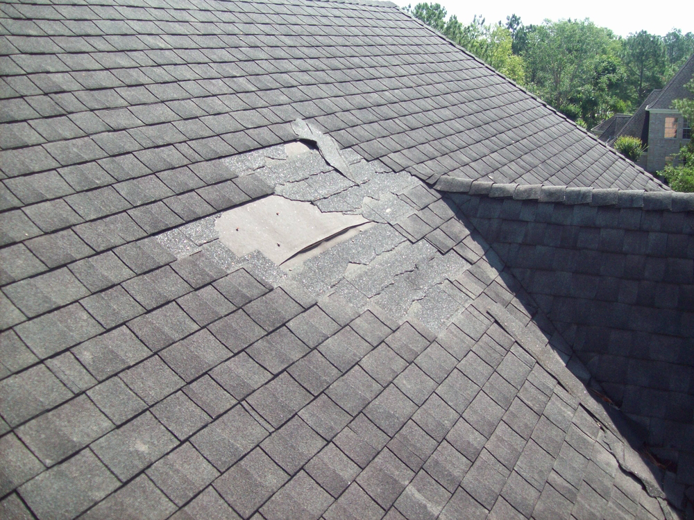 roof-damaged