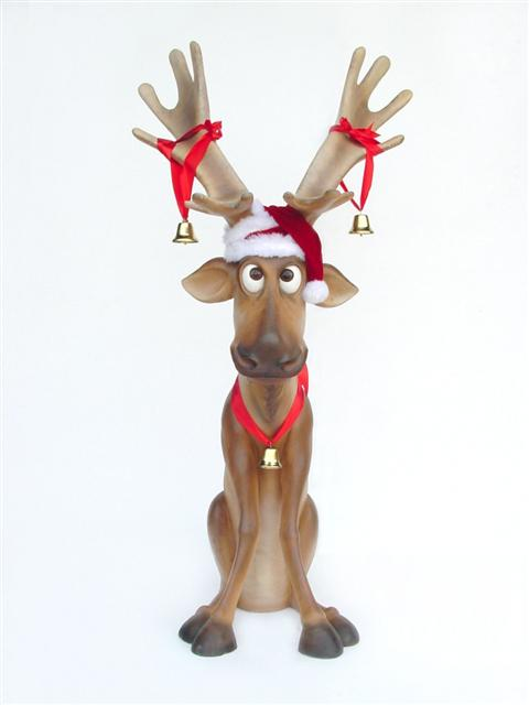 Christmas-Reindeer-Prop-Decoration-Rentals