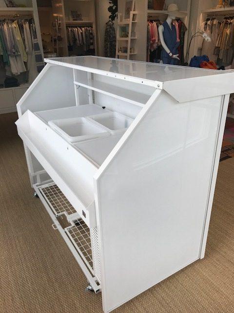 White Portable Bar Rentals
