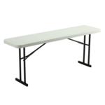 6' Rectangular Training Table Rentals