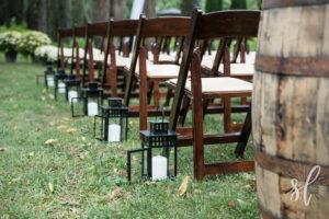 FruitWood Garden Folding Chair Rentals in Dallas Tx