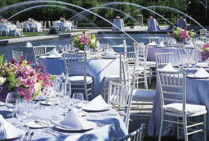 Silver Chiavari Chair Rentals in Dallas Tx