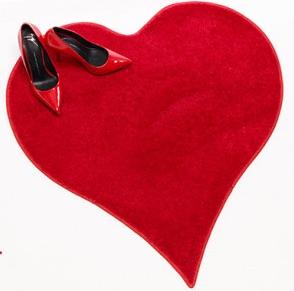 Heart Shape Red Carpet