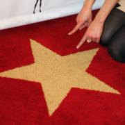 Hollywood Gold Star Carpet