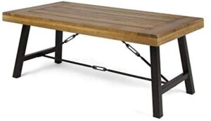 Outdoor Acacia Wood Coffee Table