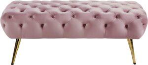 Amara Collection Modern | Contemporary Pink Velvet