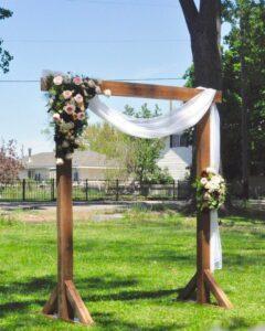 Cedder Wedding Arch