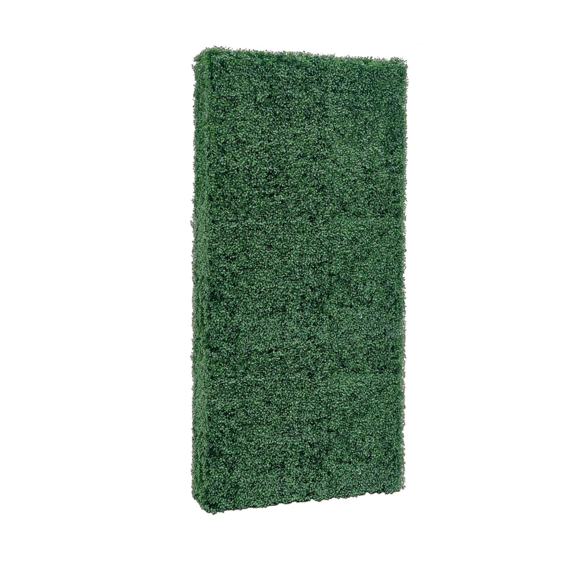 Faux Boxwood Hedge Divider Wall
