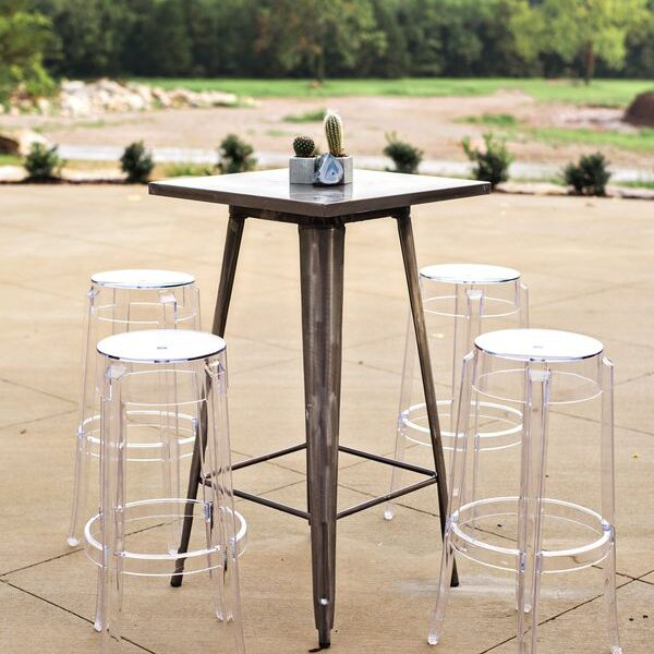 Clear Ghost Barstool Rentals in Dallas Tx