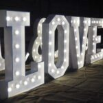 Giant Lighted Letter Rentals