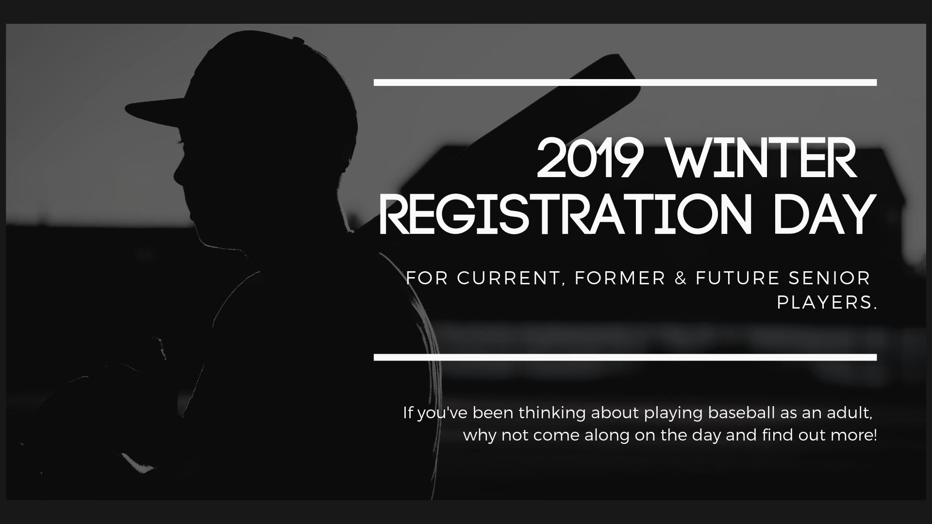2019 Winter Registration Day
