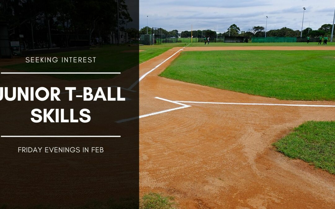 Junior T-Ball in Feb