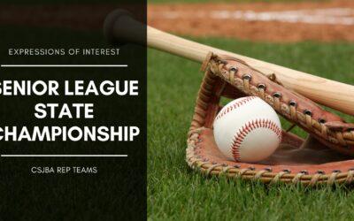 EOI: Senior League State Championship