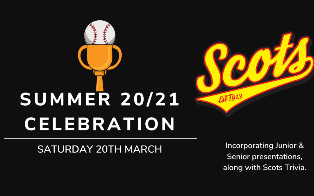 Summer 20/21 Celebration