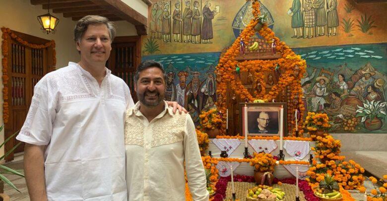 Emblemática la visita del embajador Cristopher Landau a Pátzcuaro