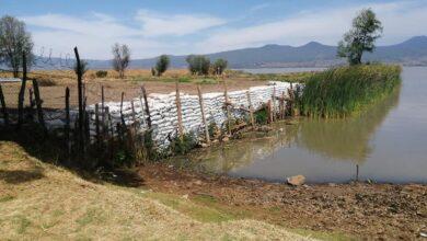 FOTOS: Así secan el lago de Pátzcuaro para ampliar sus terrenos particulares