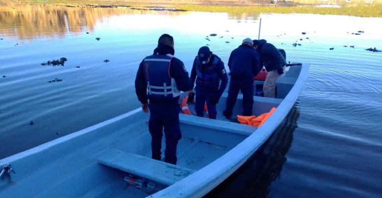 Siguen buscando a padre e hija desaparecidos en el Lago de Pátzcuaro