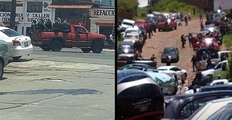 VIDEO: Incursiona grupo armado en Pátzcuaro